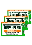 Therabreath Fresh Breath Gum - Three Pack