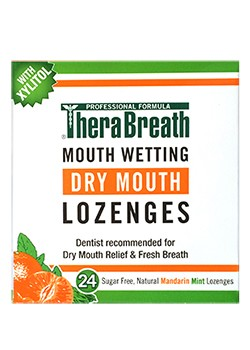 Therabreath Dry Mouth Lozenges - 24 Pieces