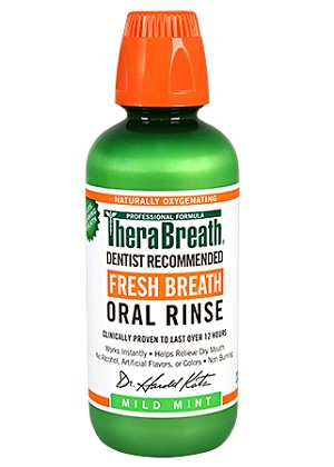 Therabreath Mild Mint Oral Rinse - 16 ounce